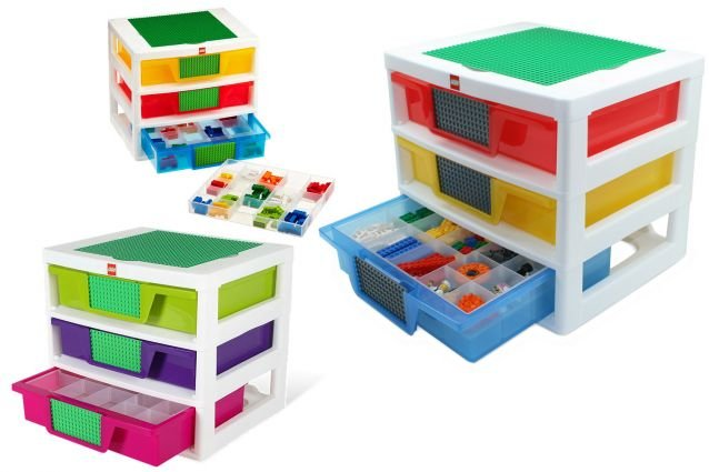 caisse de rangement lego. Black Bedroom Furniture Sets. Home Design Ideas