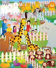 Jeux sur le th me du zoo activit s coloriage et jeux en ligne jeux imprimer - Coloriage animaux zoo ...