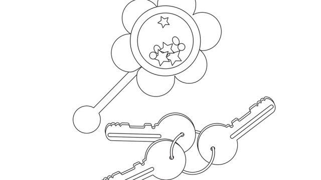dessin de jouets de b b activit s coloriage et jeux en ligne coloriage. Black Bedroom Furniture Sets. Home Design Ideas