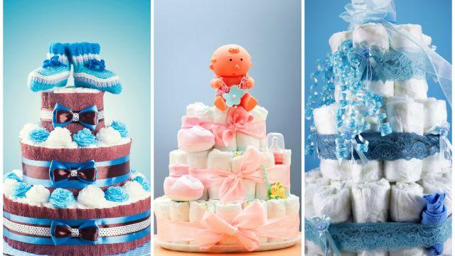 fabriquer un gâteau de couches - loisirs - bricolage, projets et