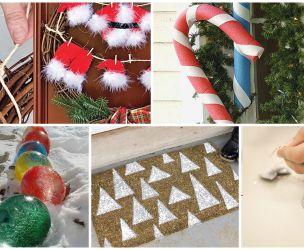 Fabriquer Decorations Exterieures Sapin