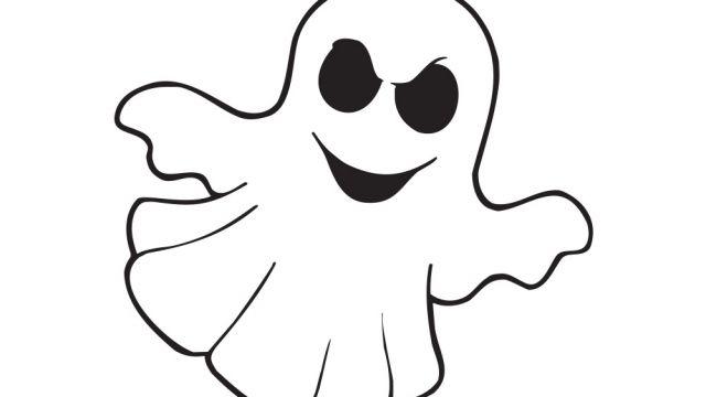 Dessin fant me activit s coloriage et jeux en ligne - Coloriage halloween fantome ...