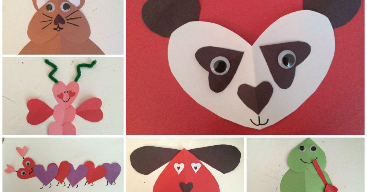 Bricoler des animaux avec des c urs page 10 loisirs bricolage projets et exp riences - Bricolage st valentin ...