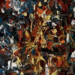 Jean-Paul Riopelle, 1948, toile sans nom
