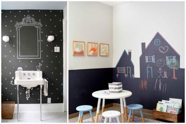 Des Idées Fabuleuses Pour La Peinture à Tableau Noir Page