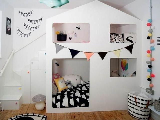 Tendance déco : les petites maisons dans les chambres d ...