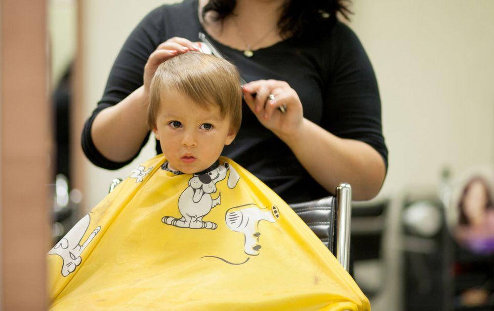 Vidéo coupe de cheveux pour enfants pour garçons