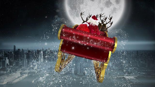 trajet du pere noel Pour suivre le père Noël dans le ciel   Activités   Grandes fêtes  trajet du pere noel
