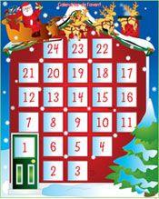 Image Calendrier De L Avent.Calendrier De L Avent Activites Coloriage Et Jeux En