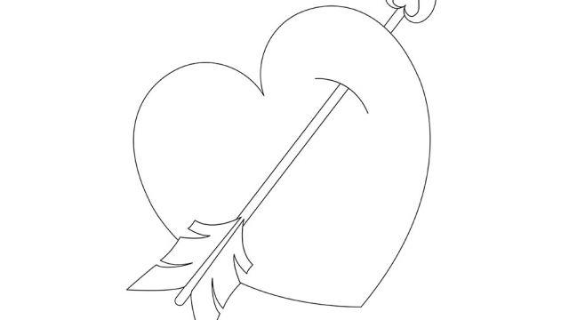 Avec la collaboration de ziraf nous vous offrons quelques coloriages t l charger et - Coeur de st valentin a imprimer ...