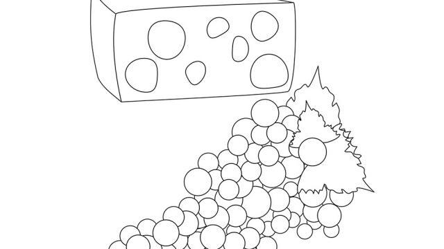 Dessin De Fromage Activités Coloriage Et Jeux En Ligne