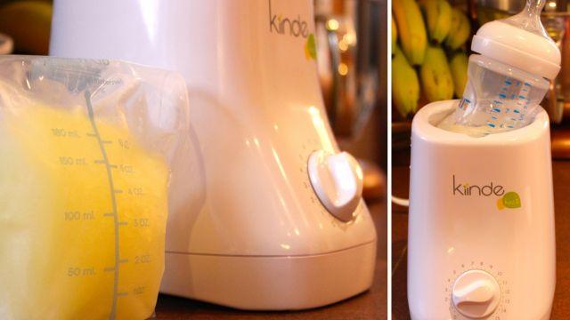 chauffe biberon lait maternel congele