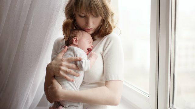 bebe de 1 mois a des gaz