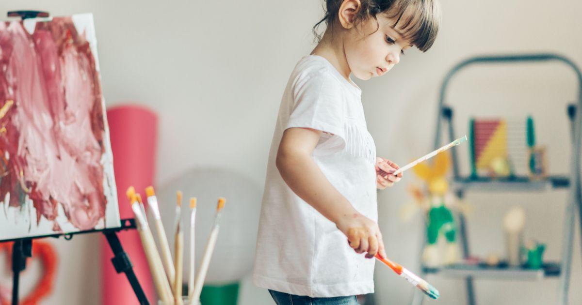 8 Recettes De Peinture Maison Pour Enfants